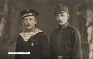 Viktor und Josef Preiner 1916