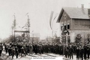 Bahnhoferöffnung 1903, Oberschützen,© Gemeinde Oberschützen