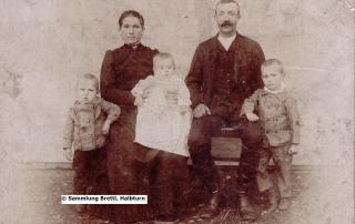 Familie aus Halbturn 19. Jahrhundert