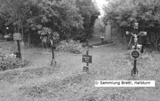 Von der ehemaligen Siedlung Alt-Saida existiert heute nur noch der Friedhof.