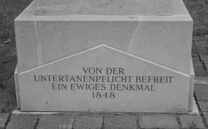 """""""1848-Denkmal"""" in Rechnitz (© Brettl, Halbturn)"""