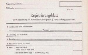 registrierungsblatt