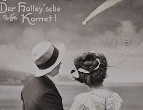 Der Halleysche Komet ist schuld an den Wetterkatastrophen