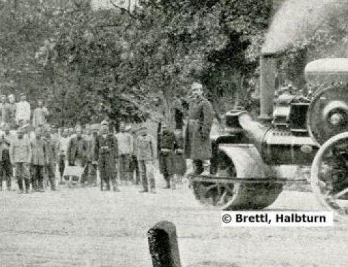 Schulzimmer oder Lager für Kriegsgefangene