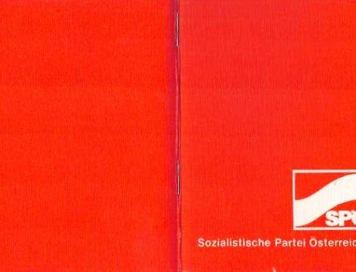 Jeder Dritte ein SPÖ-Mitglied