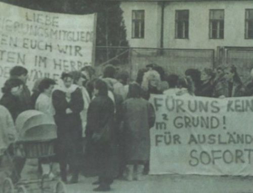 """Narrische Weiber"" gegen Flüchtlingseinquartierung"