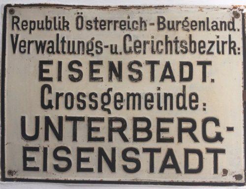 Ende der Gemeinden Oberberg und Unterberg