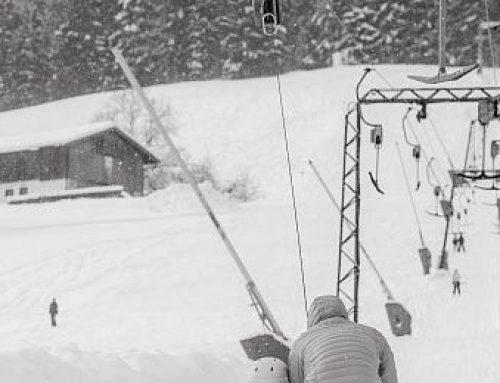 Erster Ski-Schlepplift im Burgenland