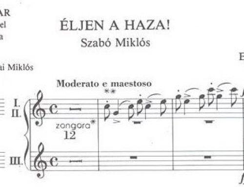 Ein Pfarrer und ungarische Lieder