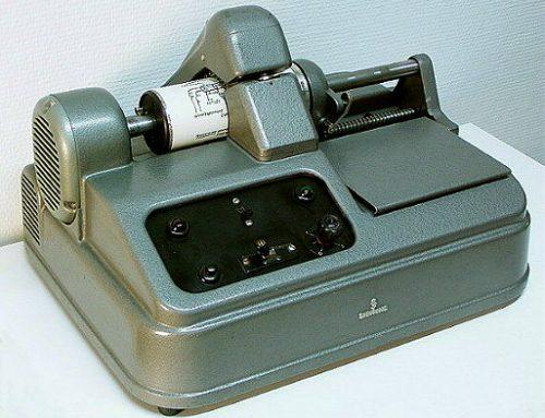 Ein Telefaxgerät für den Kurort