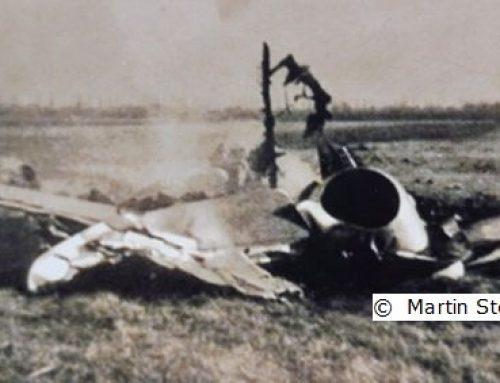 Luftkampf über Pamhagen