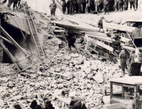 Bombenangriff auf Eisenstadt