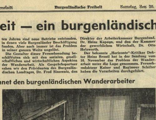 Pendeln – ein burgenländisches Schicksal