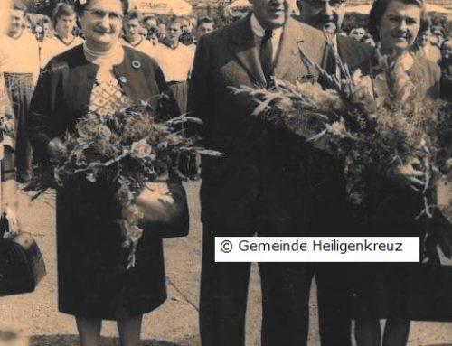 Der burgenländische Marshallplan – die Gemeinde ehrt ihre Gönner