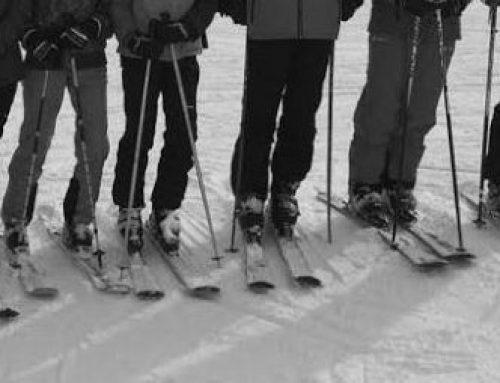 """""""Die Söhne der Ebene"""" beim Skifahren"""