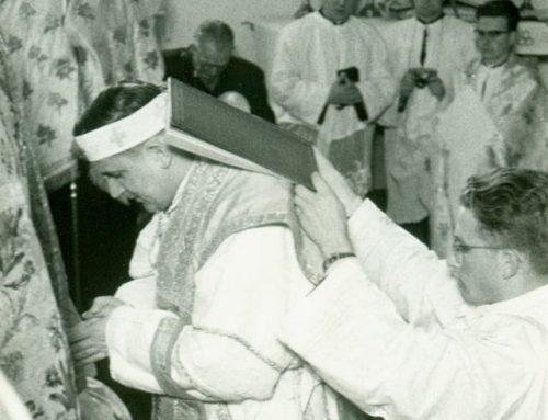 Gratulation an den ersten Diözesanbischof
