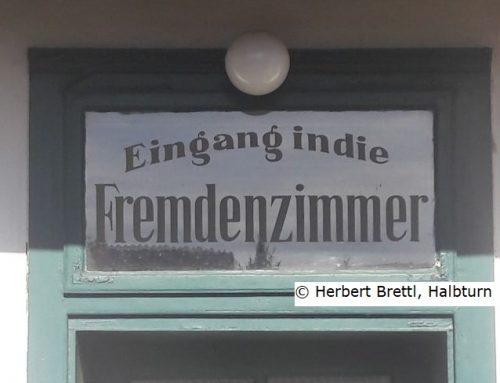 """Über die Hühnerleiter zum """"Fremdenzimmer"""""""