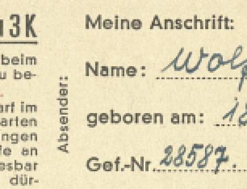 """""""Weihnachtsbriefe"""" aus dem KZ"""