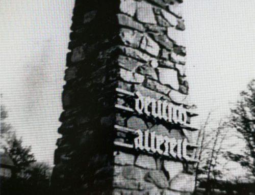 """Das """"kleine Anschlussdenkmal"""" wird enthüllt"""