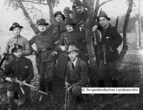 Kämpfe um das Burgenland